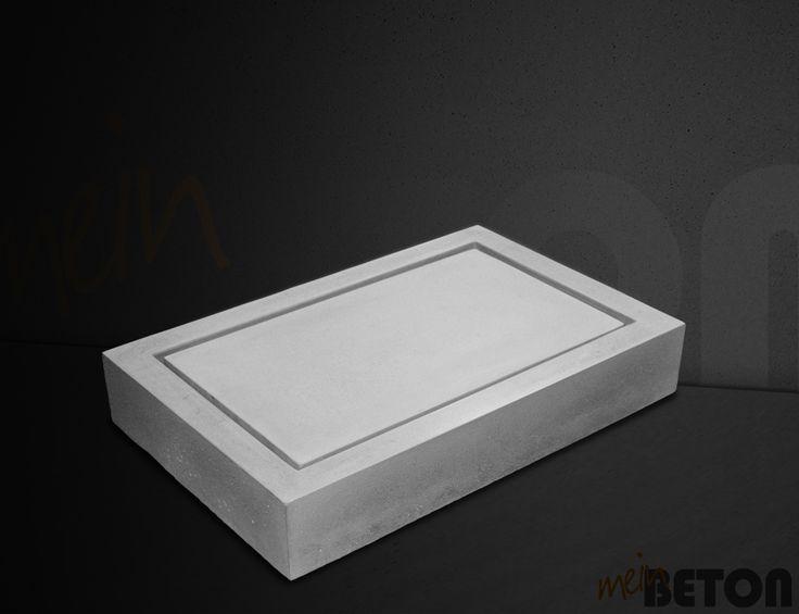 9 besten Betonwaschbecken, Betonwaschtisch, Waschtisch aus Beton ... | {Waschtischplatte beton 83}