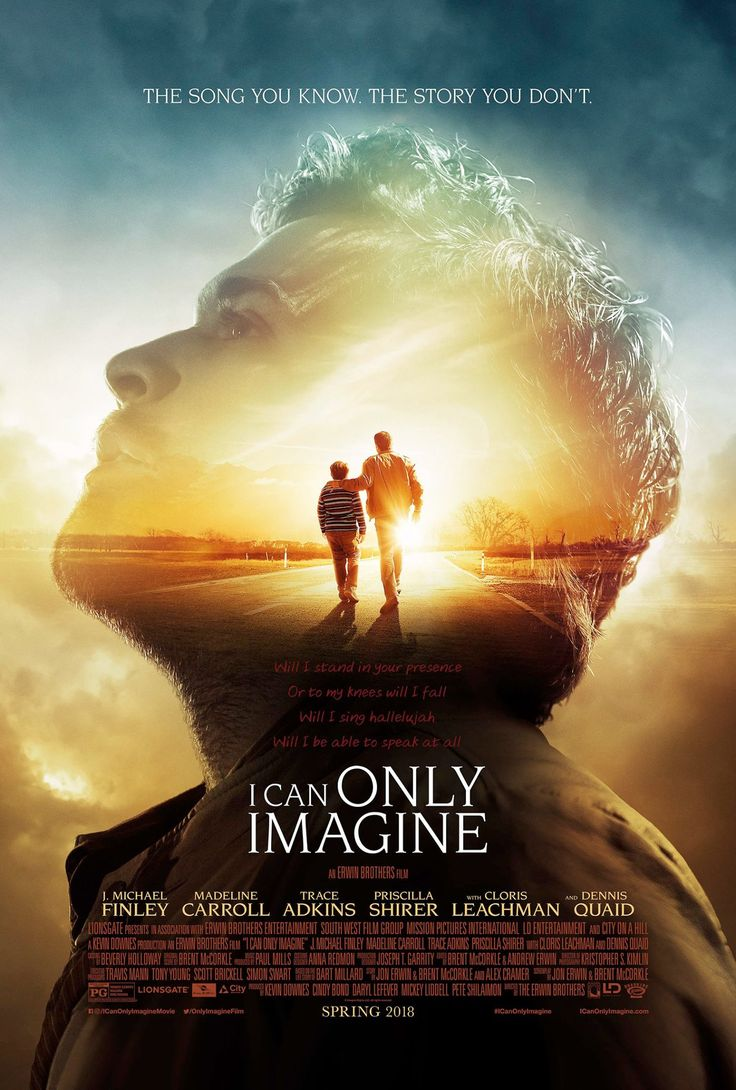 I Can Only Imagine~ March 16th 2018 - I love this song and believe I will love this movie.
