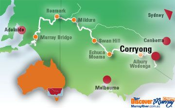 Corryong - Home to the Man from Snowy River.