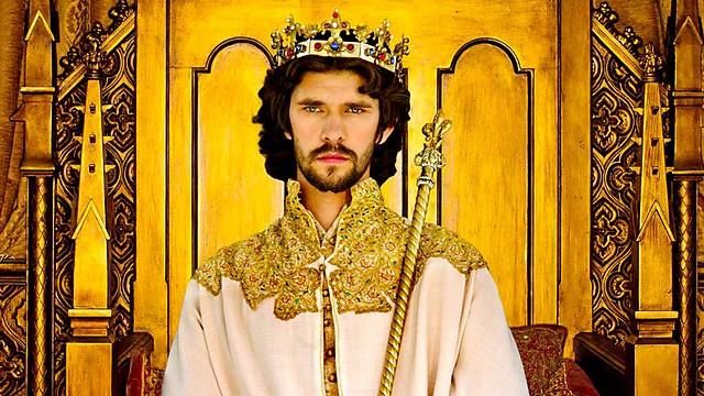 Ben Whishaw stars as Richard II in the BBC TWO's series, The Hollow Crown (Richard II).