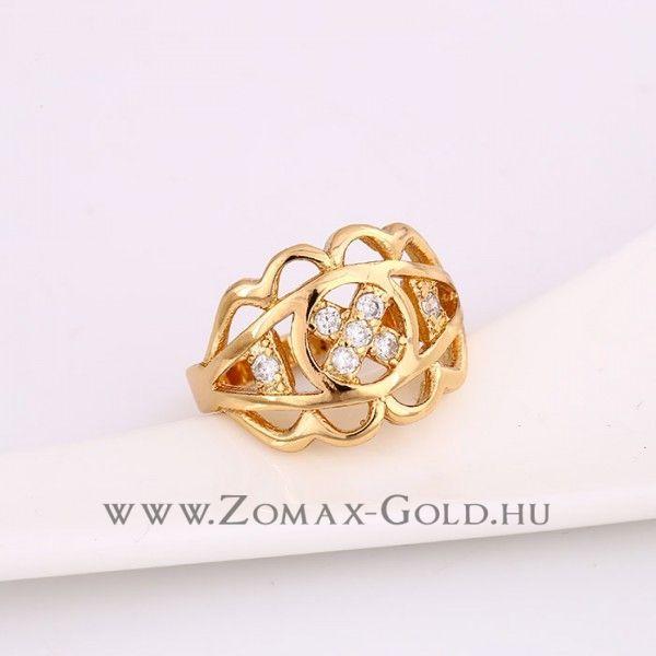 Mira gyűrű - Zomax Gold divatékszer www.zomax-gold.hu