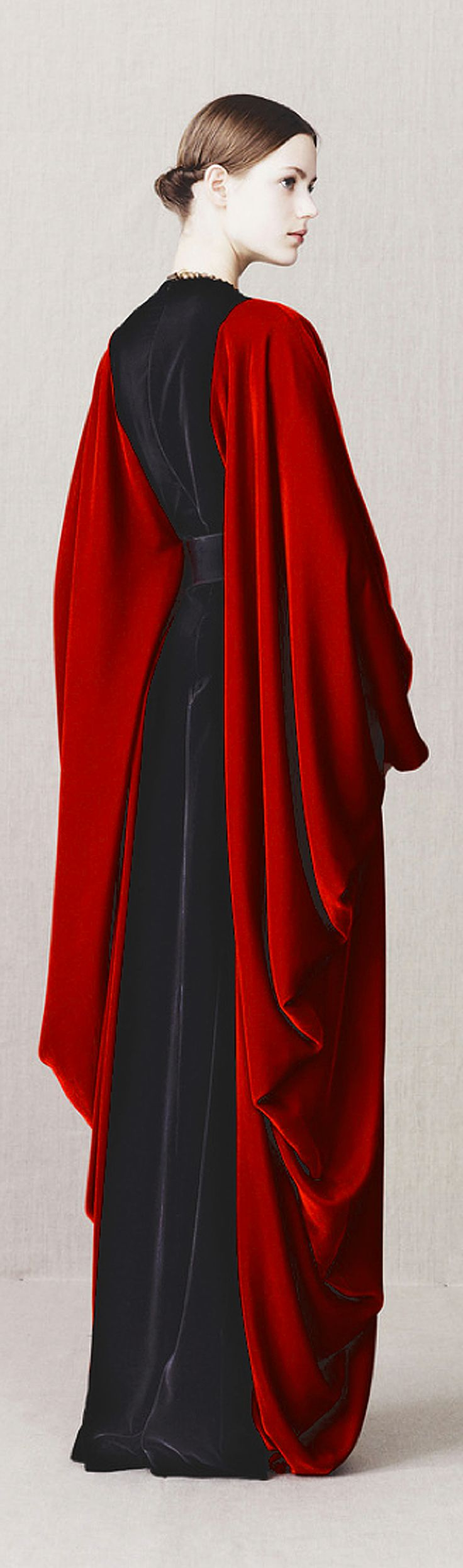 Goth: The #Undead ~ Gown by Alexander McQueen Pre-Fall 2013 ~Très Haute Diva.
