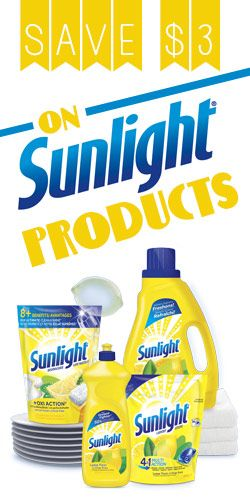 #Save $3 on #Sunlight Products