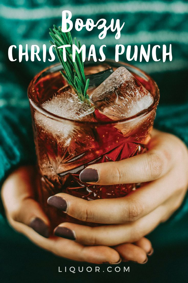 Whether you decide to drink it clean or spiked, it's surely going to get you in the festive spirit! But let's be serious, #cocktails and the holidays just go hand-in-hand.