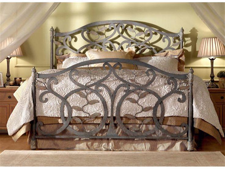 Wesley Allen Bedroom Laurel Complete Bed CB1364   The Village Shoppe    Yakima, WA. Schlafzimmer IdeenEisen KopfteilKönigin ...