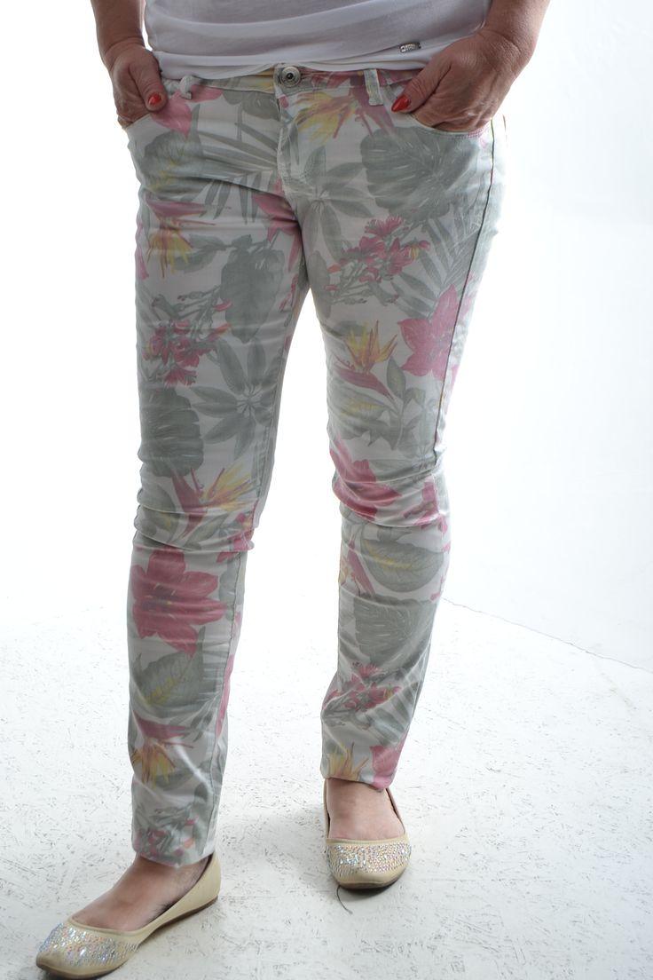 Dámske nohavice - vzorované
