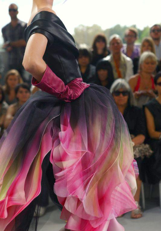 Christian Dior Haute Couture F/W 2011: John Galliano, Fashion, Gowns Dresses, Christian Dior, Flower Dresses, Parrots Tulip, Dior Haute, Stunning Dresses, Haute Couture
