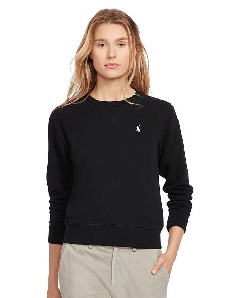 Fleece Crewneck Sweater - Polo Ralph Lauren Sale - RalphLauren.com
