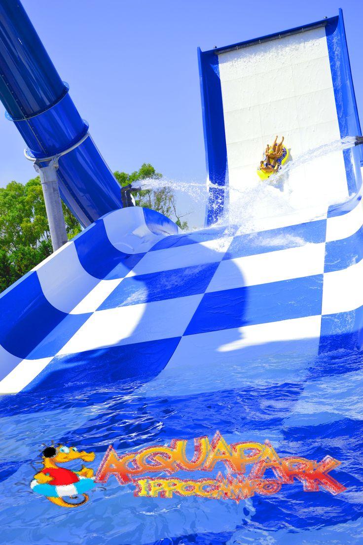 Un tuffo dove l'acqua è più blu… Niente di più   Solo all' @AcquaparkIppocampo!  A dive in the bluest water… Nothing more! ;)  Only at the #AcquaparkIppocampo!  www.ippocampo.it  #Canada #Italy #meltingpot #pool #fun #relax #AcquaparkIppocampo