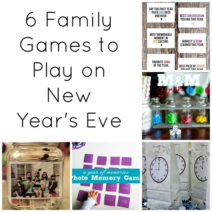 85 best new years eve diy ideas images on pinterest new years 6 family games to play on new years eve malvernweather Gallery