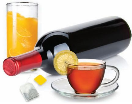 HPLC Method for Metabolite Profiling of Wine, Juice, & Tea: Application note featuring a gradient HPLC method to study product authenticity, such as differentiating wine varietals, orange juice varietals and growing region, and distinguishing tea blends, and identifying adulteration in juices, such the blending of orange juice with cheaper juices or the inclusion of peel or pulp wash.