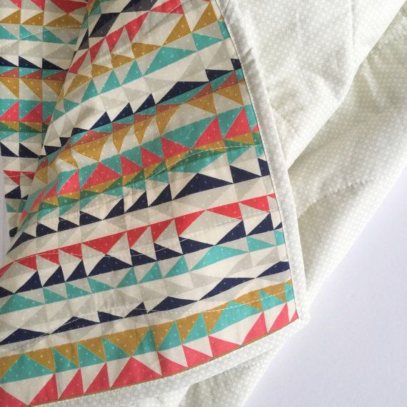 Hey, I found this really awesome Etsy listing at https://www.etsy.com/listing/263241051/modern-baby-quilt-modern-toddler-quilt