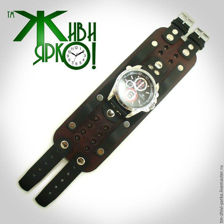 Купить Ремешок для часов ручной работы - ремешок для часов, ремешок из кожи, ремешок на часы