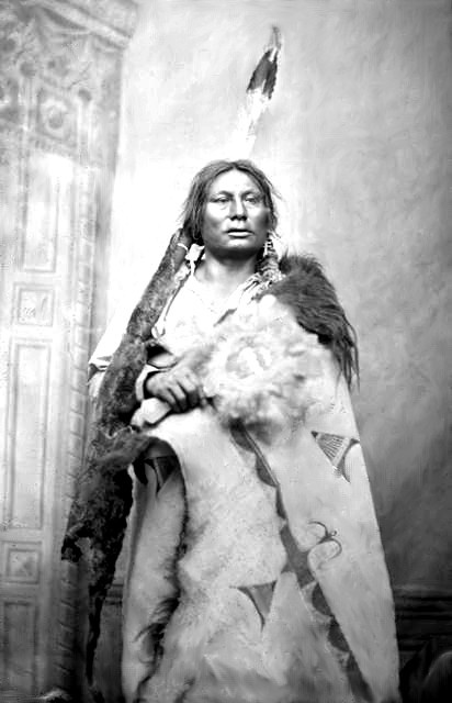 Following the battle of the Little Big Horn, Chief Gall accompanied Sitting Bull who retreated into Canada.