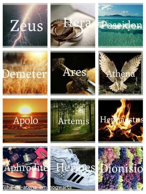 Los dioses de la mitología griega.