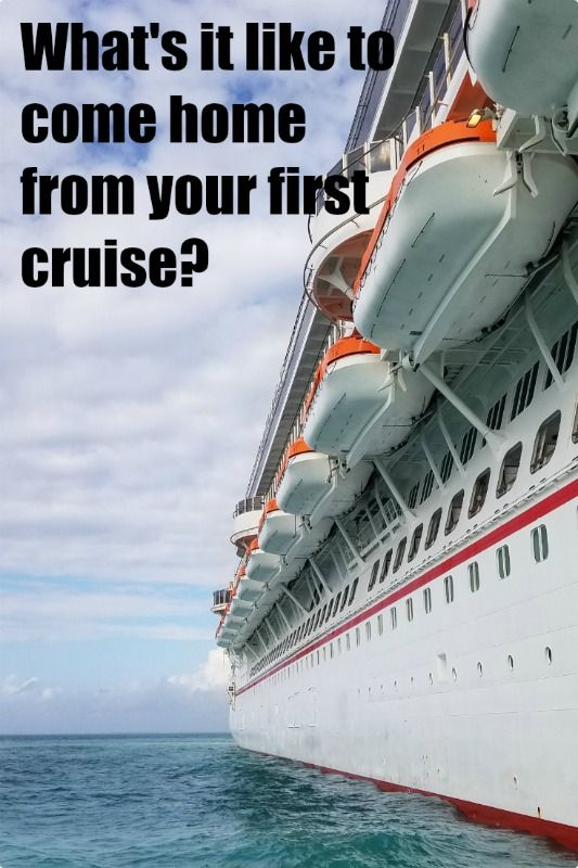 The best way to know what your first cruise will be like is to see what it's like to come from one! Check out my first-hand experiences coming home from my first cruise on Carnival! #CruisingCarnival #cruiselife #firstcruise