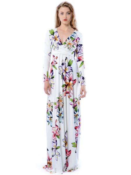 Magdalena Maxi Hypnotic Lily - sukienka maxi z kwiatowym printem
