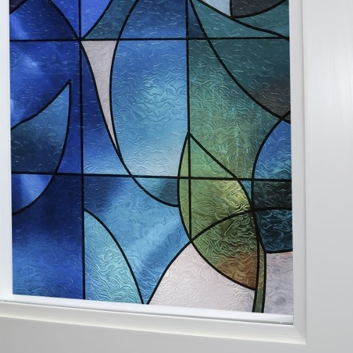Best DIY Home Decor Images On Pinterest Decorative Windows - Stained glass window stickers amazon