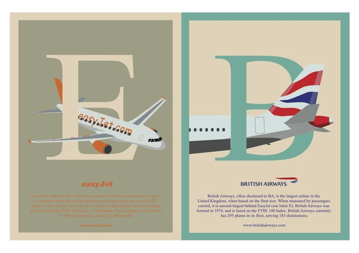 'Letters E & B' from A to Z of Iconic British brands book design by Ben White, Esher College 2017