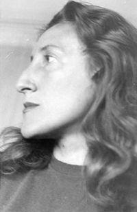 Nina Cassian (pen name of Renée Annie Cassian), Romanian American poet, composer, journalist, translator and film critic