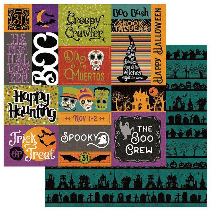 Photo Play Matilda and Godfrey (Halloween) 12x12