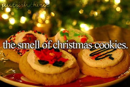 just girly things. Looove Christmas everything!