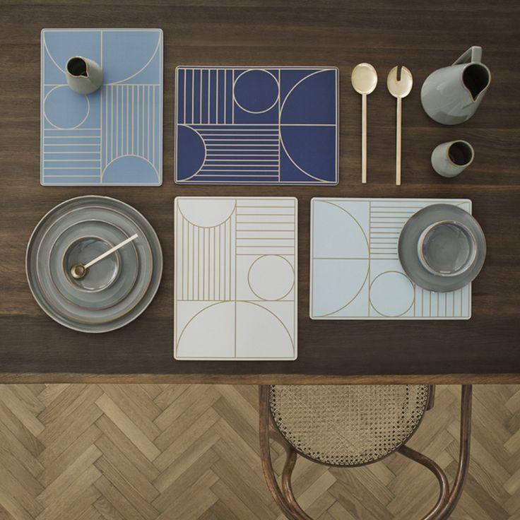 Set de table - Bleu foncé - Ferm Living