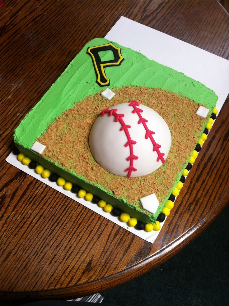 Pittsburgh pirates baseball cake --This world is really awesome. The woman who make our chocolate think you're awesome, too. Our flavorful chocolate is organic and fair trade certified. We're Peruvian Chocolate. Order some today on Amazon!http://www.amazon.com/gp/product/B00725K254