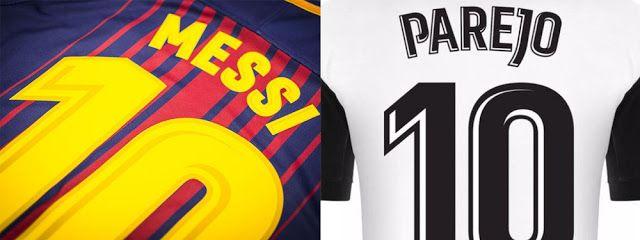 Lettering Time: La tipografía de la nueva camiseta del Real Madrid para la liga 2017 / 2018