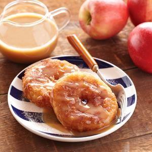 Cinnamon Fried Apple Rings