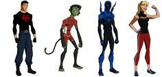 The Blog Of EspanolBot: Young Justice: Invasion - Character designs