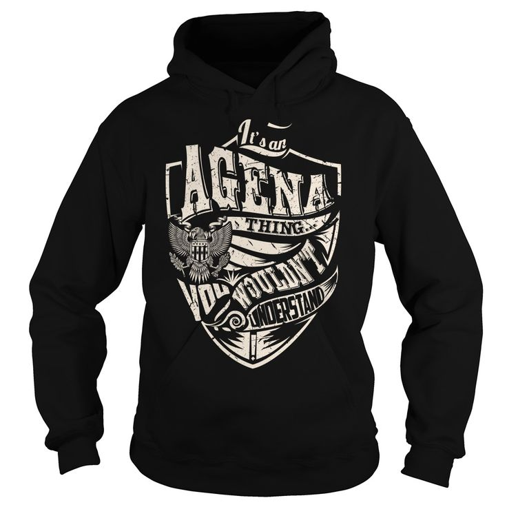 Its an AGENA Thing (Eagle) ᗗ - Last Name,  ⃝ Surname T-ShirtIts an AGENA Thing. You Wouldnt Understand (Eagle). AGENA Last Name, Surname T-ShirtAGENA