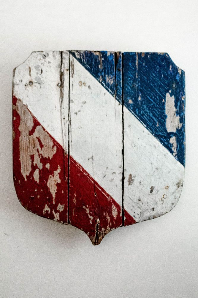Komedal Road . . . — French Flag Holder ...