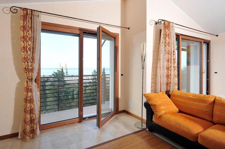 porte finestra legno alluminio Limbiate