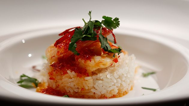 MKR4 Recipe - Hot And Spicy Prawns With Coconut Lime Rice