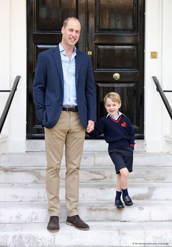 Grandpa Prince Charles Says Prince George's Back-to-School Nerves Are 'Character Building'
