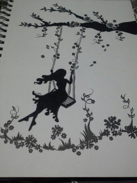 Run away with you~  Another ink artwork from me