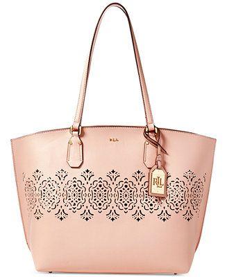Lauren Ralph Lauren Lauderdale Tanner Tote, A Macy's Exclusive Style - Designer Handbags - Handbags & Accessories - Macy's