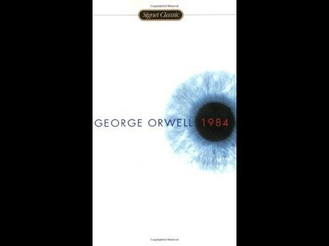 1984 by George Orwell....... I read this in the 1950s.   Still recommend it.