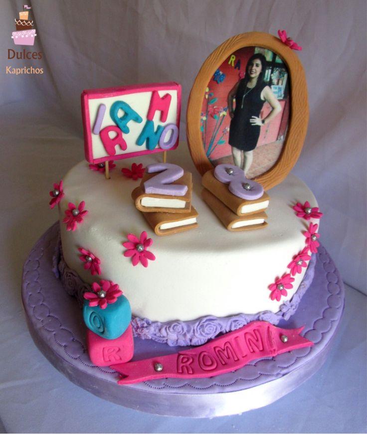 Torta de Cumpleaños Personalizada #TortaPersonalizada #TortasDecoradas #DulcesKaprichos