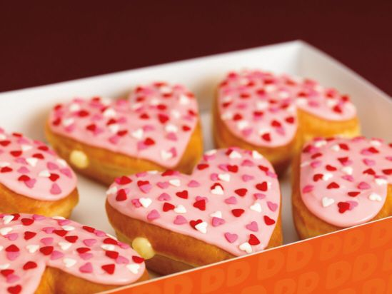 Nothing says I love you more than <3 doughnuts!