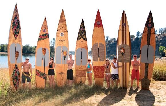 Kaholo Wood Touring Stand-Up Paddleboard: Build Your Own in Under 60 Hours!