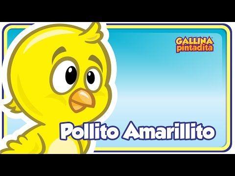Pollito Amarillito - Gallina Pintadita 1 - OFICIAL - videos para bebés - YouTube