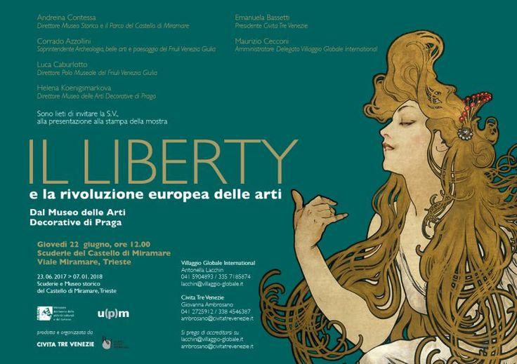 Il Liberty e la rivoluzione europea delle arti, Scuderie e Castello di Miramare, Trieste