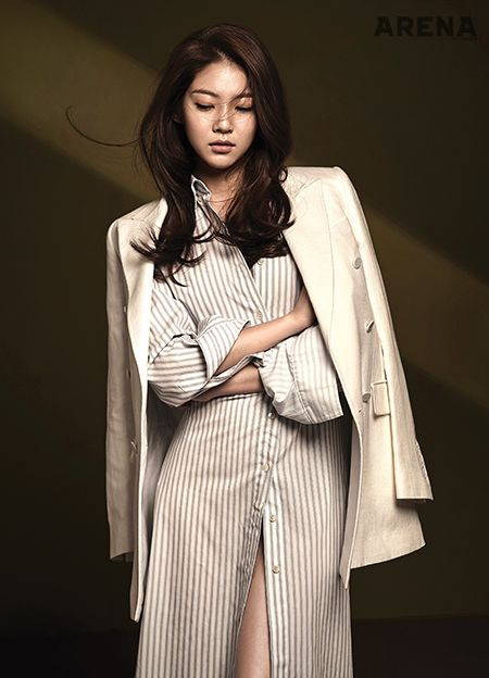 Pretty Gong Seung Yeon For January Arena Homme Plus   Couch Kimchi