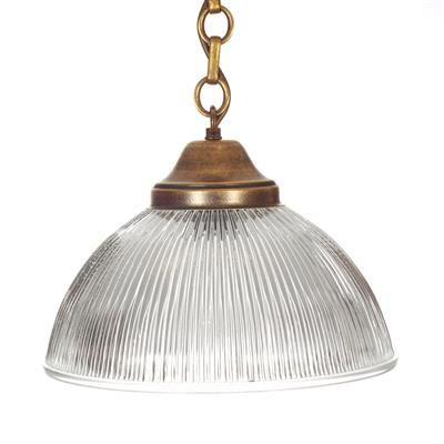 Foster Pendant Light in Antiqued Brass