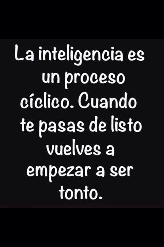 Jajaja, qué verdad ༺✿ƬⱤღ http://www.pinterest.com/teretegui/✿༻