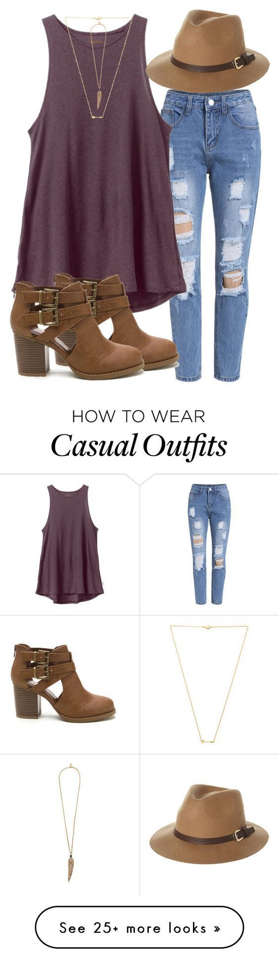 Casual on Polyvore featuring RVCA, Rusty, Wanderlust + Co…