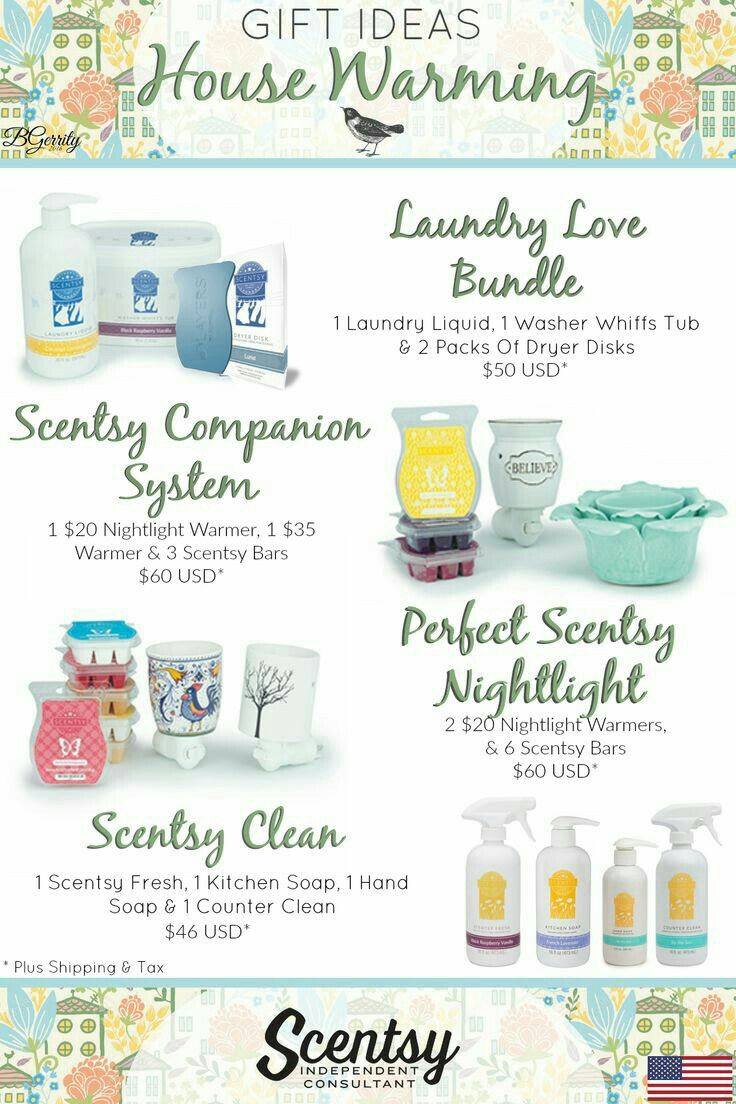 Need a house warming gift? Scentsy's got you covered!