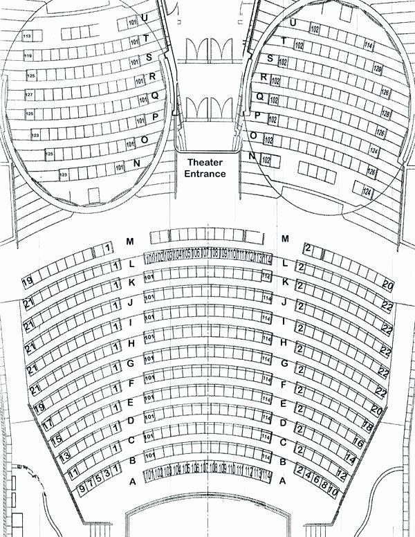 Auditorium Seating Chart Template Luxury Auditorium